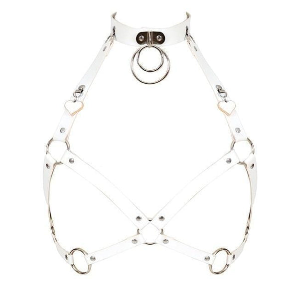 Kawaii Heart O Ring Harness - 4 Colors DDLGWorld harness