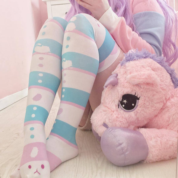 Kawaii Neko Socks/Stockings DDLGWorld stockings