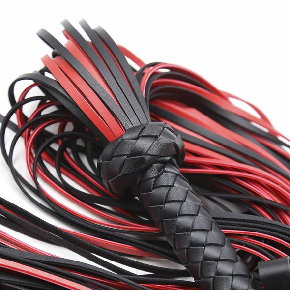 Luxury Naughty Devil Leather Flogger DDLGWorld flogger