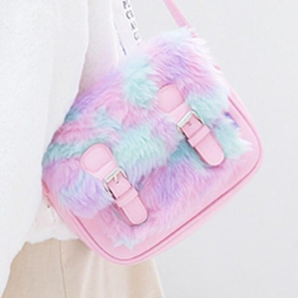 Pastel Galaxy Messenger Bag DDLGWorld bag