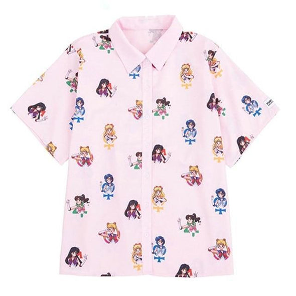 Pastel Pink Sailor Moon Shirt DDLGWorld Shirt