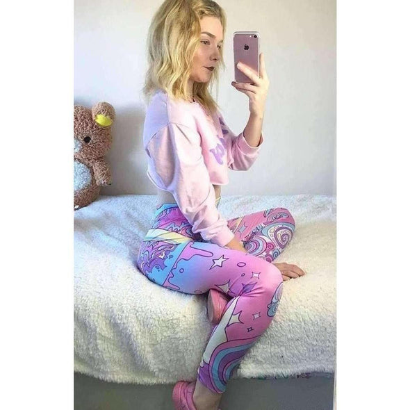 Pastel Universe Leggings DDLGWorld leggings
