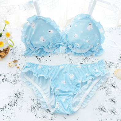 Polar Bear Lingerie Set DDLGWorld lingerie set