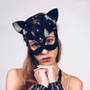 PU Leather Cat Mask DDLGWorld Mask