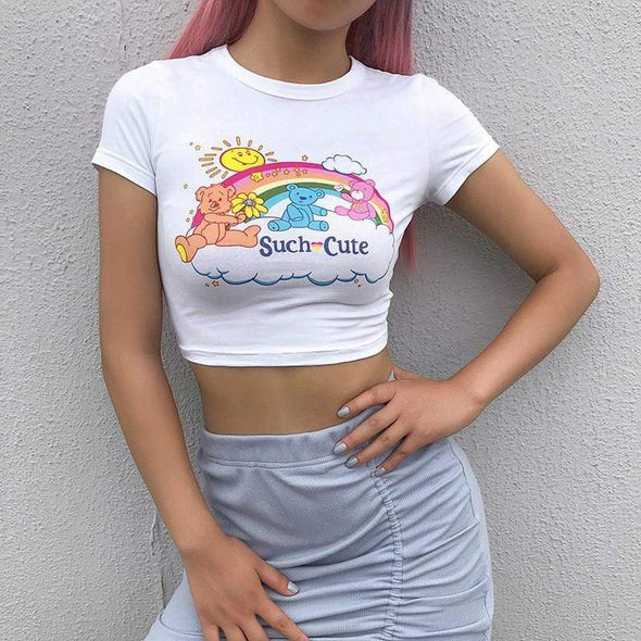 Such Cute Crop Top DDLGWorld Crop Top