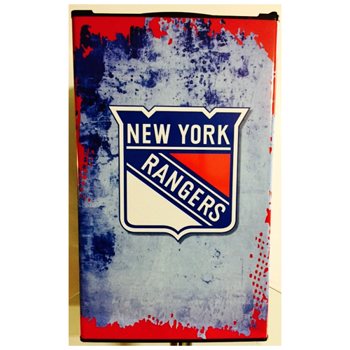 New York Rangers Fridge, New York Rangers Beer Fridge, New York Rangers Mini Fridge, New York Rangers Fridge Decals, Custom Fridge Wraps, Fridge Decals