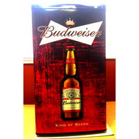 Budweiser Fridge, Budweiser Beer Fridge, Budweiser Mini Fridge, Budweiser Fridge Decals, Custom Fridge Wraps, Fridge Decals