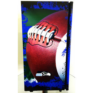 Seattle Seahawks Fridge, Seattle Seahawks Beer Fridge, Seattle Seahawks Mini Fridge, Seattle Seahawks Fridge Decals, Seattle Seahawks Fridge, Custom Fridge Wraps, Fridge Decals