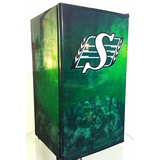 Saskatchewan Rough Riders Fridge, Saskatchewan Rough Riders Beer Fridge, Saskatchewan Rough Riders Mini Fridge, Saskatchewan Rough Riders Fridge Decals, Custom Fridge Wraps, Fridge Decals