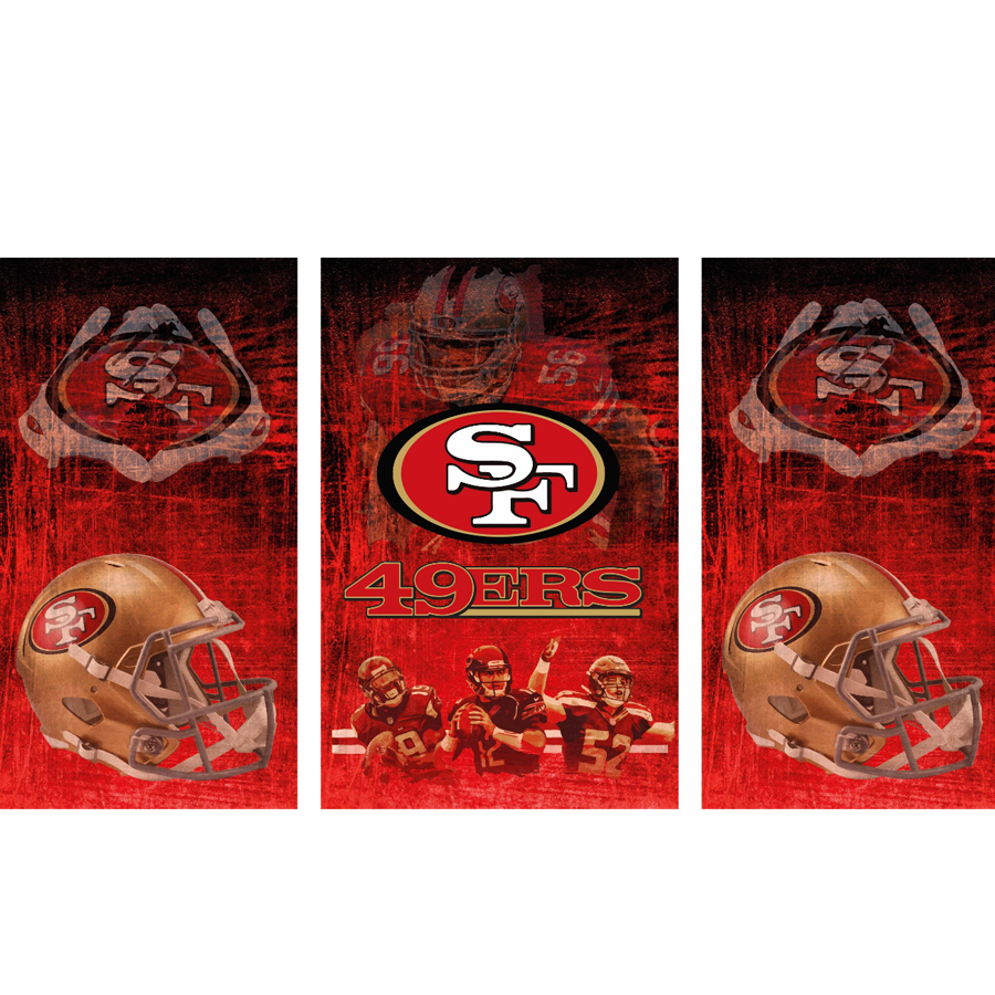 San Francisco 49ers Fridge