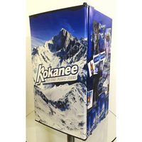Kokanee Fridge, Kokanee Beer Fridge, Kokanee Mini Fridge, Kokanee Fridge Decals, Custom Fridge Wraps, Fridge Decals