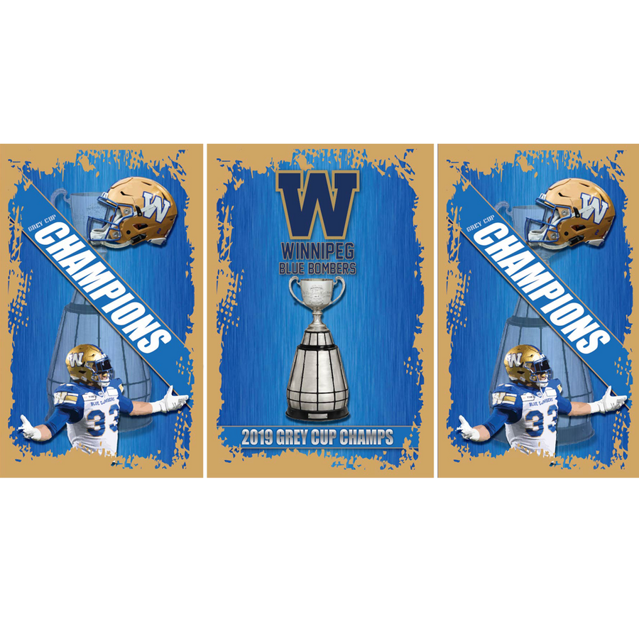 Winnipeg Blue Bombers Fridge