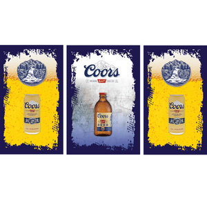 Coors Banquet Fridge