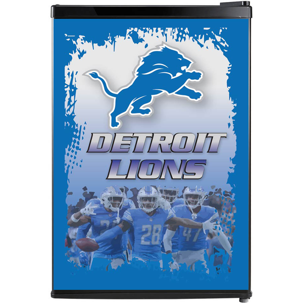 Detroit Lions Fridge, Detroit Lions Beer Fridge, Detroit Lions Mini Fridge, Detroit Lions Fridge Decals, Custom Fridge Wraps, Fridge Decals