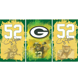 Green Bay Packers Fridge, Green Bay Packers Beer Fridge, Green Bay Packers Mini Fidge, Green Bay Packers Fridge Decals, Custom Fridge Wraps, Fridge Decals