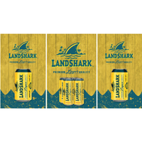 Landshark Lager Fridge, Landshark Lager Beer Fridge, Landshark Lager Mini Fridge, Landshark Lager Fridge Decals, Custom Fridge Wraps, Fridge Decals
