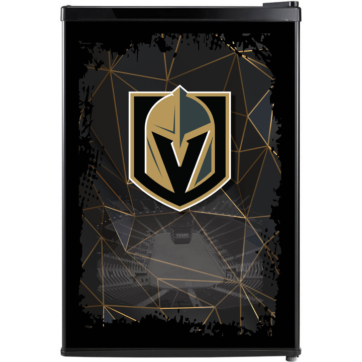 Las Vegas Golden Knights Fridge, Golden Knights Beer Fridge, Golden Knights Mini Fridge, Golden Knights Fridge Decals, Custom Fridge Wraps, Fridge Decals