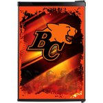 BC Lions Fridge, BC Lions Beer Fridge, BC Lions Mini Fridge, BC Lions Fridge Decals, Custom Fridge Wraps, Fridge Decals