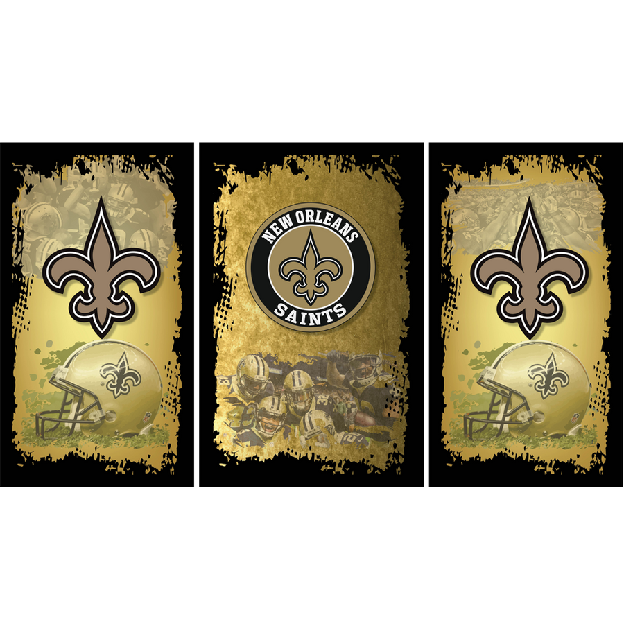 New Orleans Saints Fridge