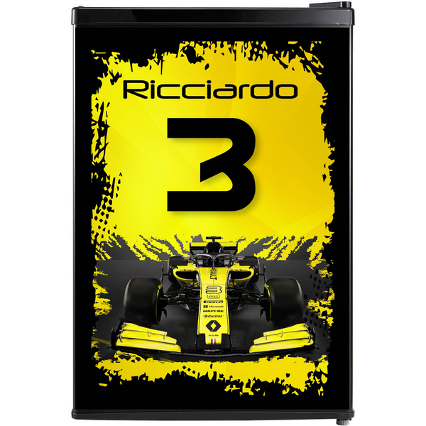 F1 Fridge, F1 Beer Fridge, F1 Mini Fridge, F1 Fridge Decals, Custom Fridge Wraps, Fridge Decals