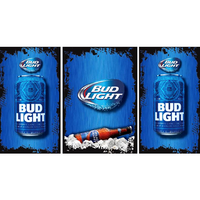 Bud Light Fridge, Bud Light Beer Fridge, Bud Light Mini Fridge, Bud Light Fridge Decals, Custom Fridge Wraps, Fridge Decals