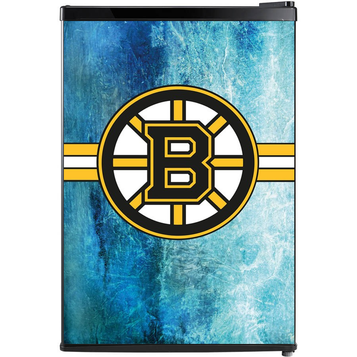 Boston Bruins Fridge, Custom Fridge Wraps