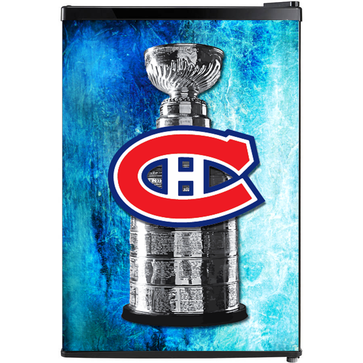 Montreal Canadiens Fridge, Custom Fridge Wraps