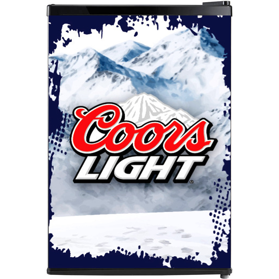 Coors Light Fridge, Coors Light Beer Fridge, Coors Light Mini Fridge, Coors Light Fridge Decals, Custom Fridge Wraps, Fridge Decals