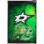 Dallas Stars Fridge, Dallas Stars Beer Fridge, Dallas Stars Mini Fridge, Dallas Stars Fridge Decals, Custom Fridge Wraps, Fridge Decals