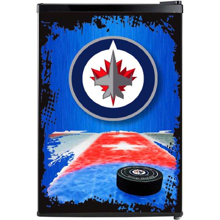 Winnipeg Jets Fridge, Custom Fridge Wrap