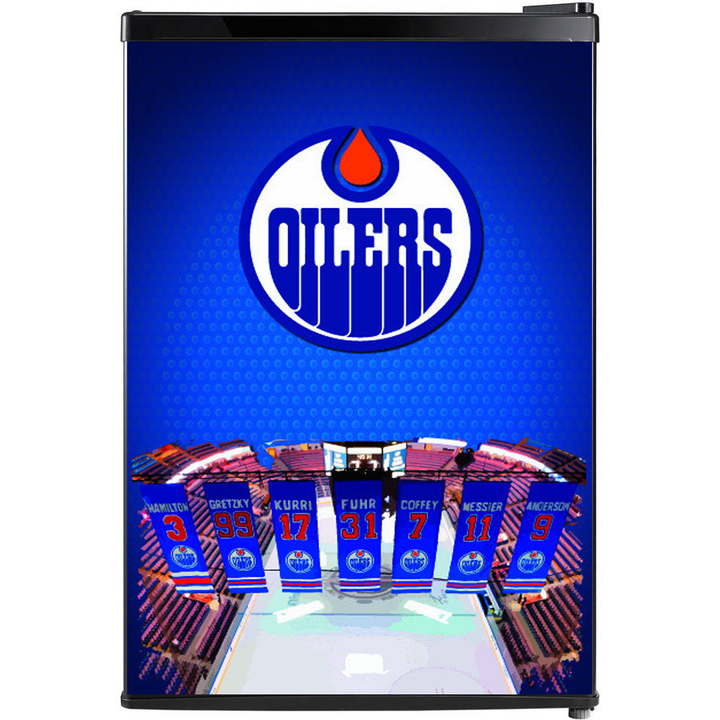 Edmonton Oilers Fridge, Custom Fridge Wraps