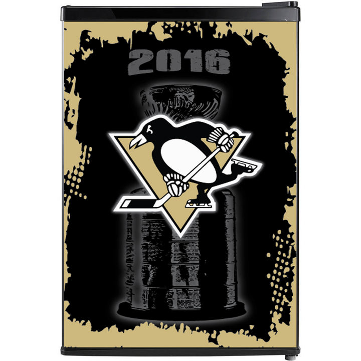 Pittsburgh Penguins Fridge, Custom Fridge Wraps