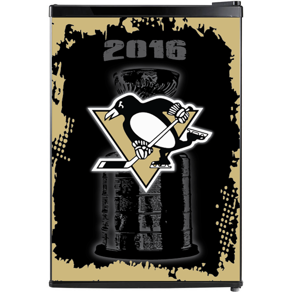 Pittsburgh Penguins Fridge, Pittsburgh Penguins Beer Fridge, Pittsburgh Penguins Mini Fridge, Pittsburgh Penguins Fridge Decals, Custom Fridge Wraps, Fridge Decals
