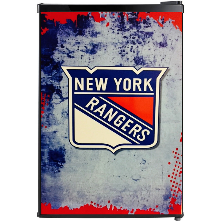 New York Rangers Fridge, Custom Fridge Wraps