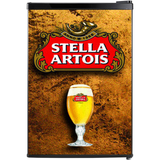Stella Artois Fridge, Stella Artois Beer Fridge, Stella Artois Mini Fridge, Stella Artois Fridge Decals, Custom Fridge Wraps, Fridge Decals