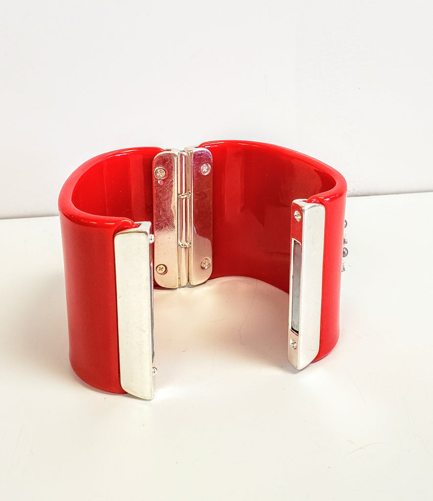 Red cuff - Luxe Shoe Boutique & Accessories
