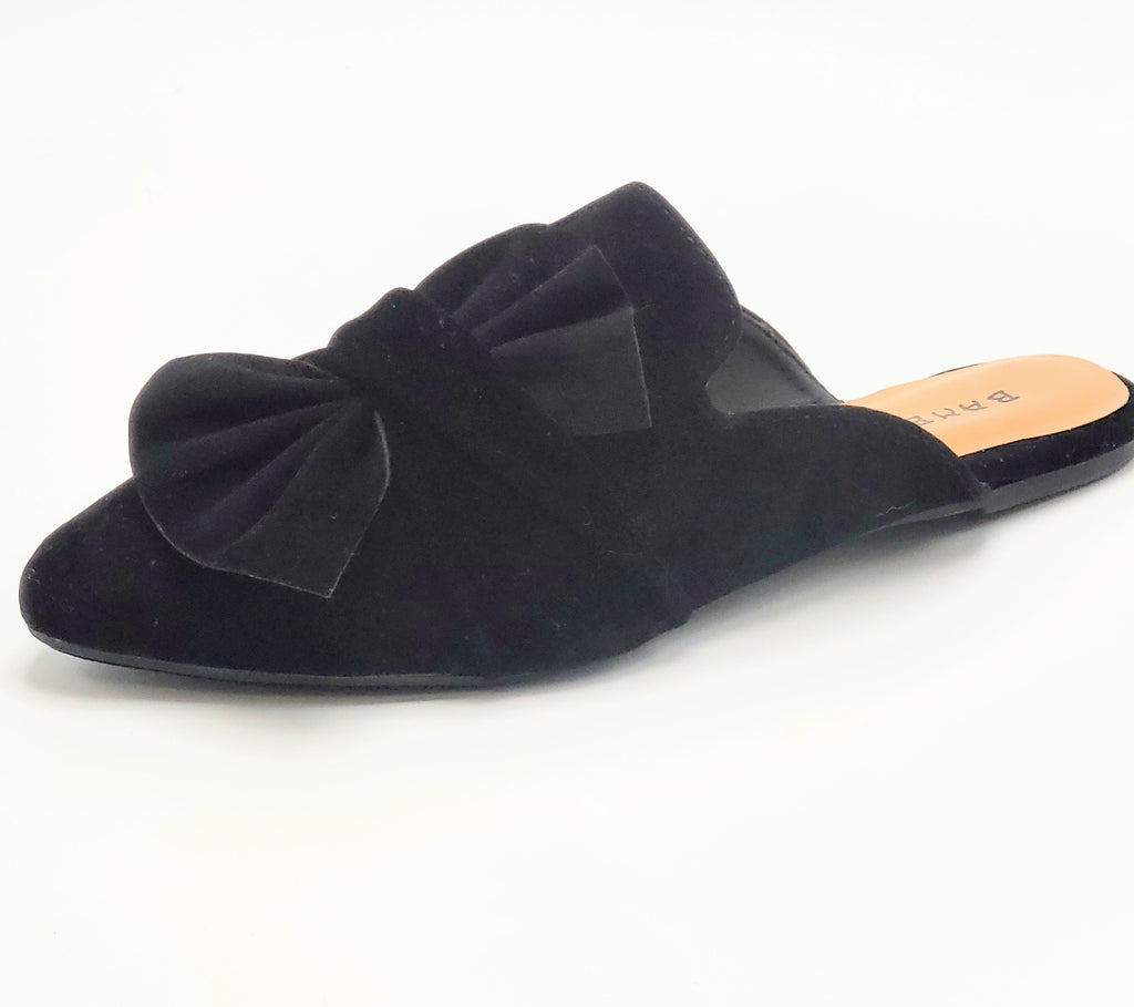 Bella- Bow Slip Ons - Luxe Shoe Boutique & Accessories