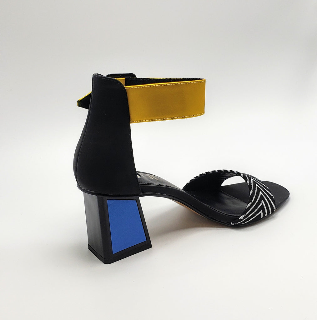 Color block sandals - Luxe Shoe Boutique & Accessories