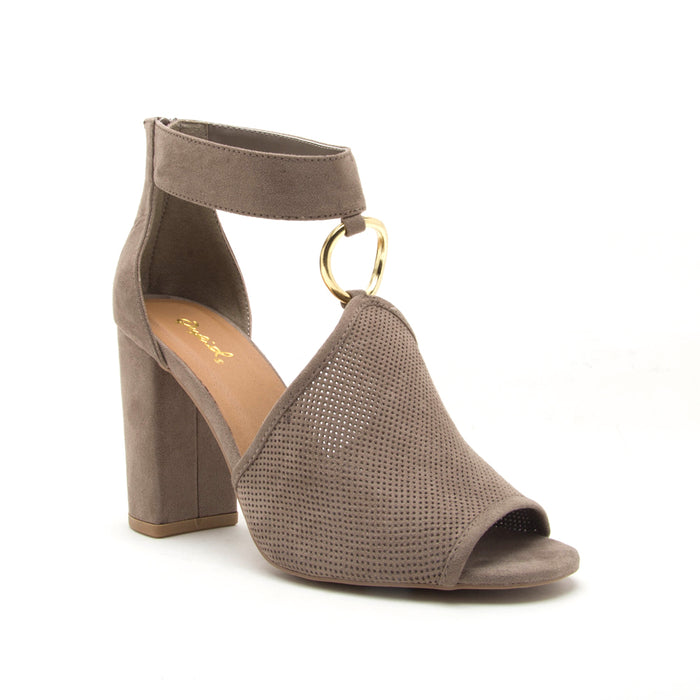 Alona block heel