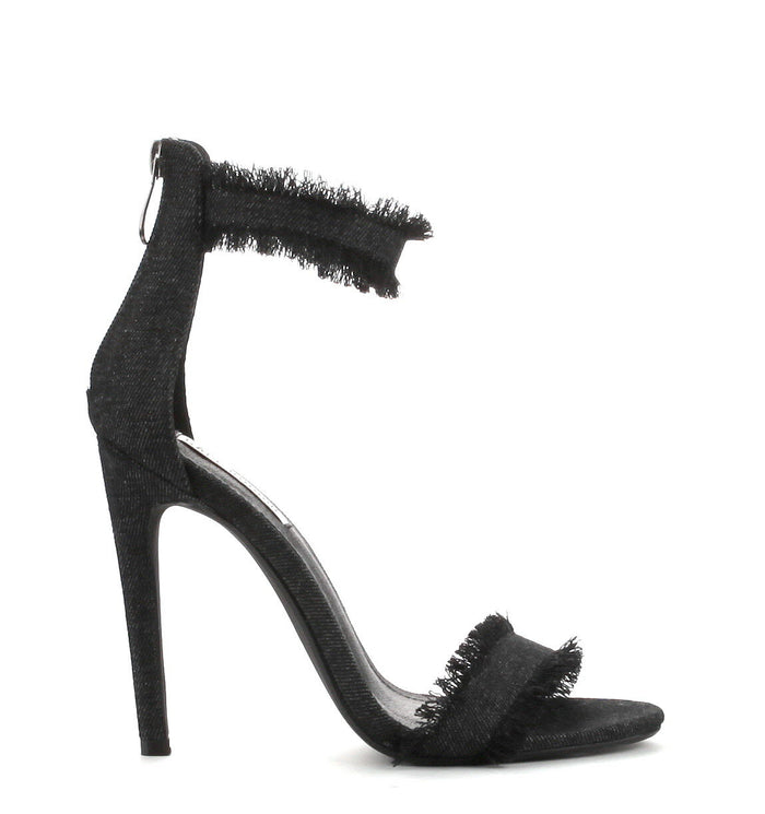 Demi-Frayed Heel - Luxe Shoe Boutique & Accessories