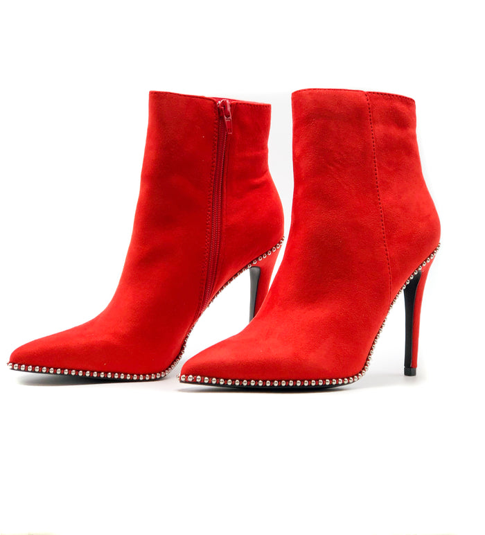Red bootie