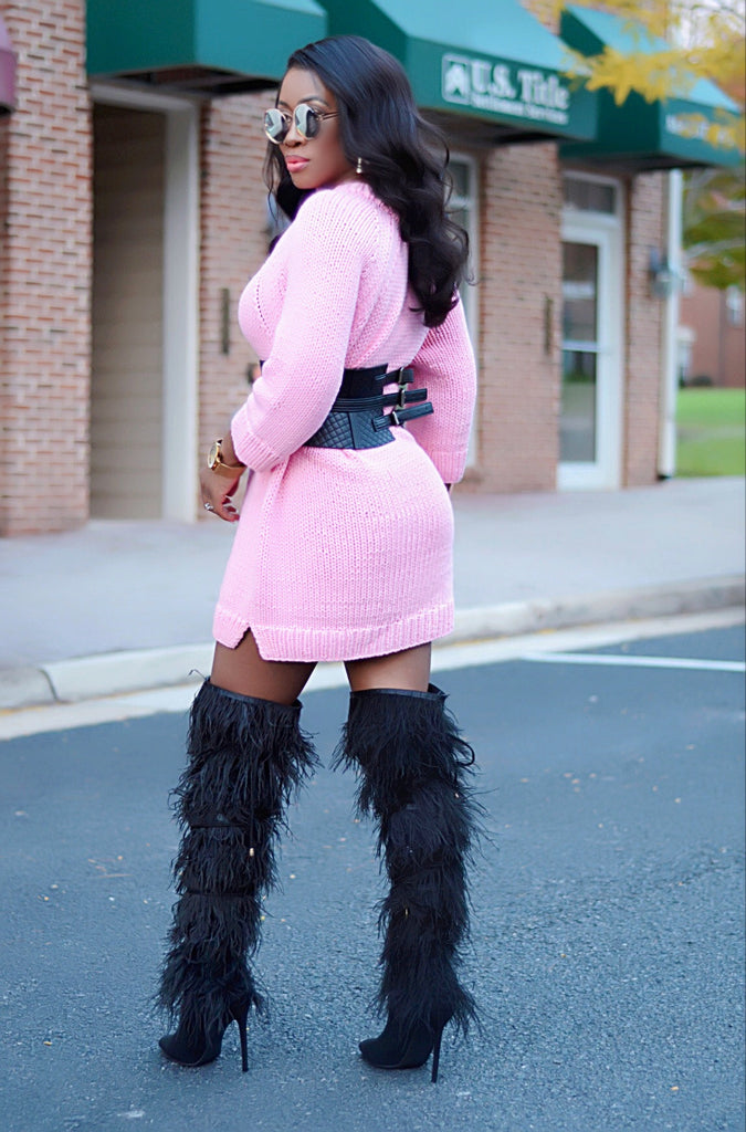 Carolina Feather boot - Luxe Shoe Boutique & Accessories
