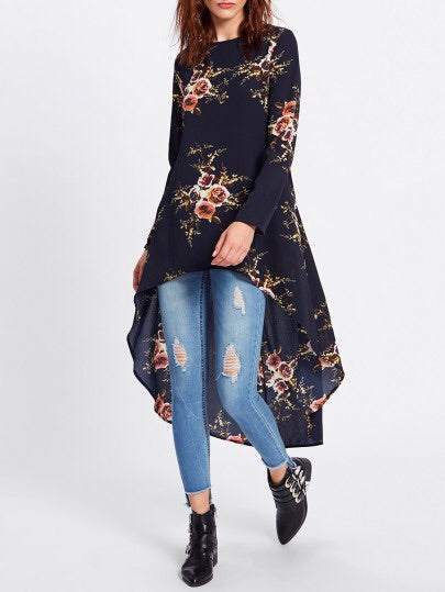Tara flower high/jow top