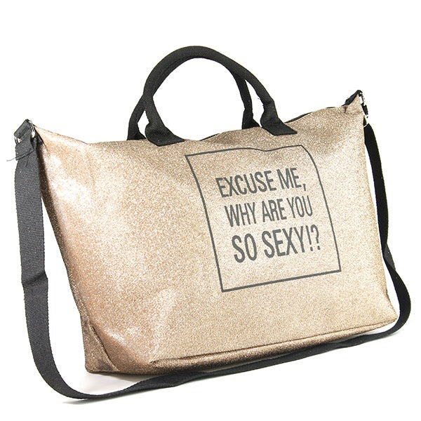 Sexy tote-Gold - Luxe Shoe Boutique & Accessories