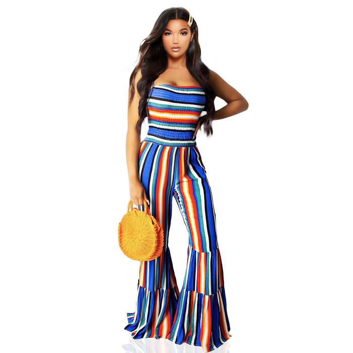 Rainbow jumpsuit - Luxe Shoe Boutique & Accessories