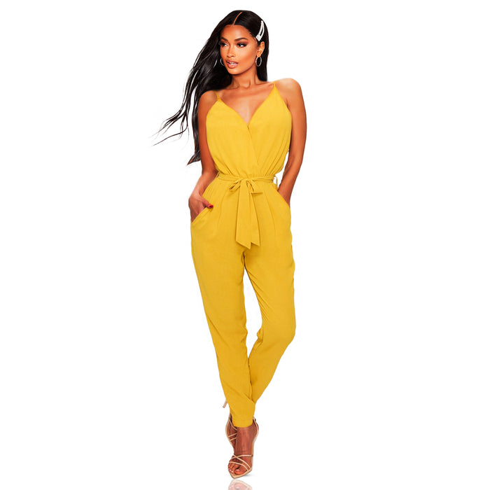 Sleeveless jumpsuit - Luxe Shoe Boutique & Accessories