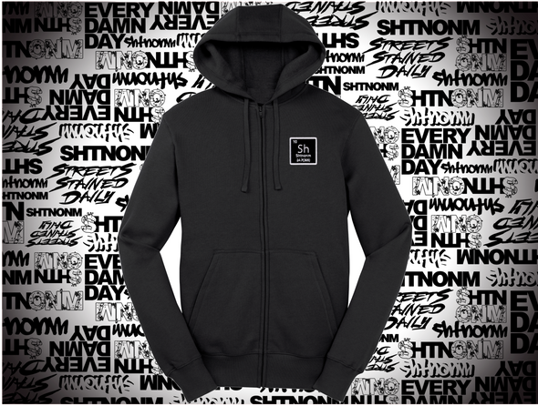 SHTNONM - ELEMENT PATCH FULL ZIP UP HOODIE