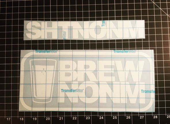 BREWNONM- DECAL 12""