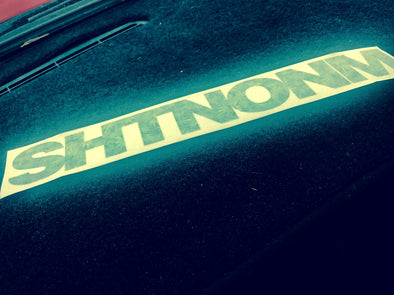 SHTNONM- SWEET LEAF DECAL