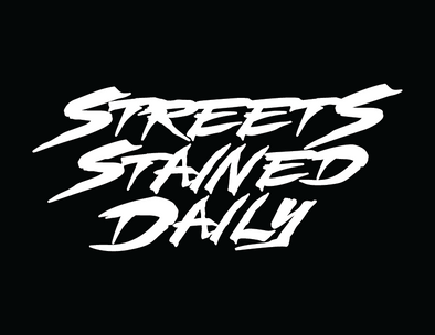 STREETS STAINED DAILY DECAL 8""